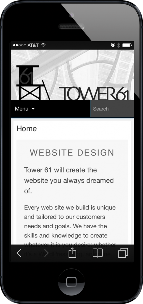 Responsive Design / Mobile Optimization